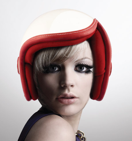 MOJA2blog  Luxy Vespa Helmet by Daniel Don Chang